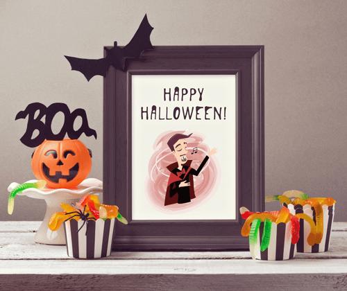 Vista previa del conjunto de iconos de Halloween