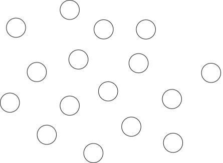 Círculos sin proximidad espacial