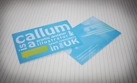 Diseñar una tarjeta de presentación abstracta