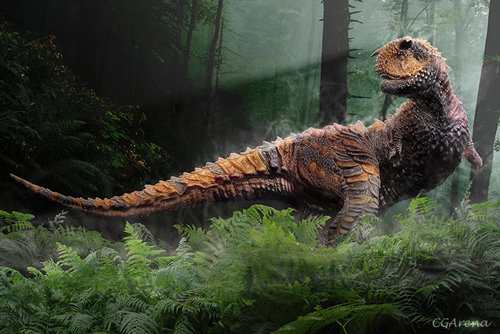 Modelado del dinosaurio