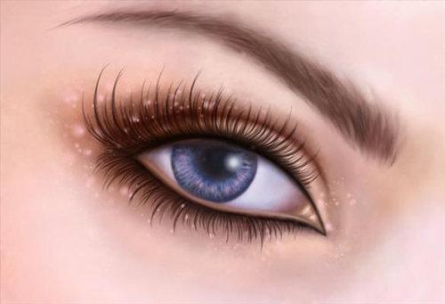 Pintar ojos de fantasía