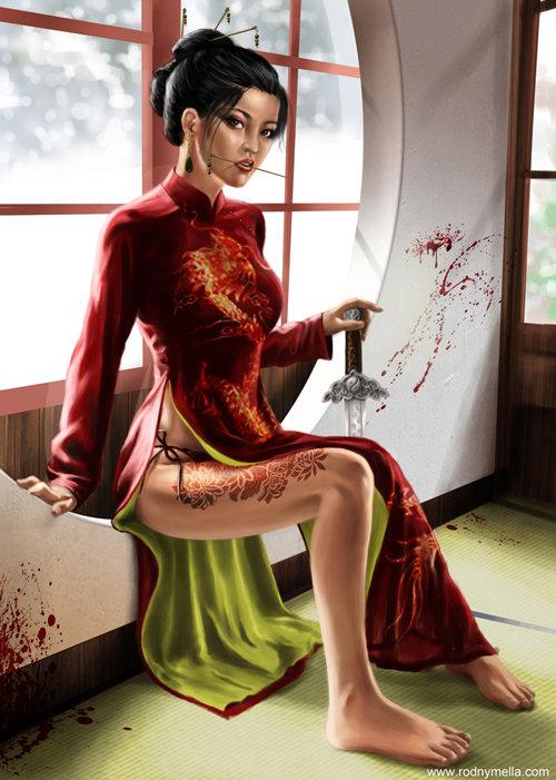 Tutorial de pintura digital de Red Assassin