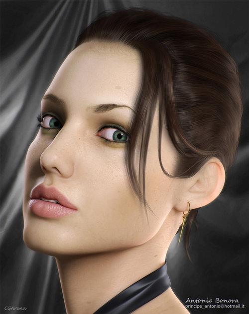 Realización de Angelina Jolie
