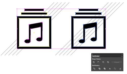 Si diseña sus iconos en Illustrator, debe ordenarlos antes de copiarlos en Photoshop.