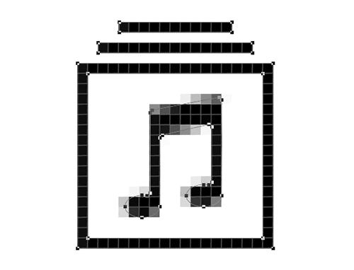 Todos los píxeles parciales se han ido.