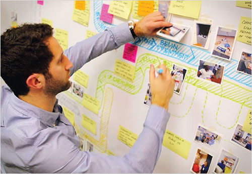 Producir un mapa claro es un trabajo de diseño.  Trabaje con un diseñador para encontrar el enfoque correcto.