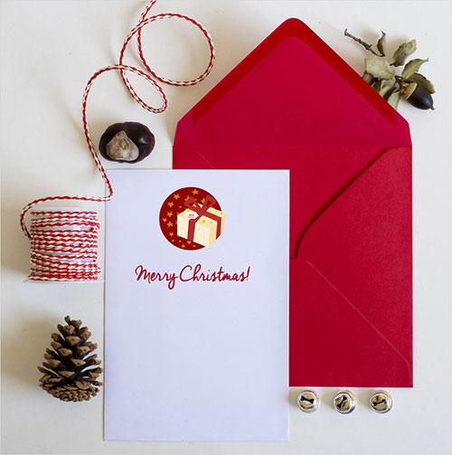 Los iconos se ven brillantes en folletos, volantes y tarjetas de Navidad.  ¡Deje fluir su fantasía y creatividad!