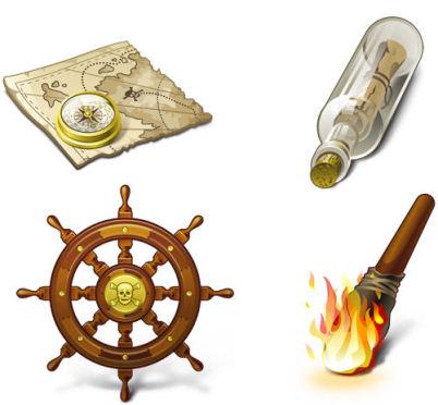 Paquete de iconos piratas