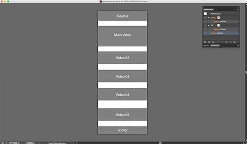 Captura de pantalla de la interfaz de la herramienta UXPin