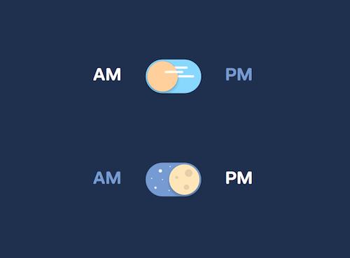 Alternar día y noche con CSS puro