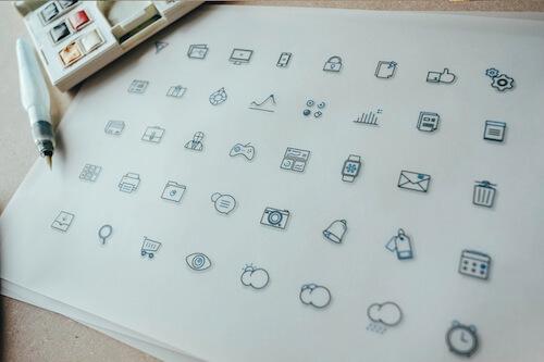 Iconos de fblu