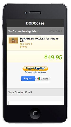 Experiencias de comercio electrónico móvil en Shopify.