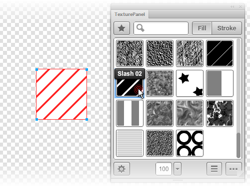 Aplicar una textura con el panel Textura