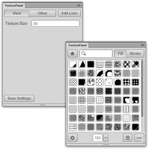 Configuración de tamaño de textura