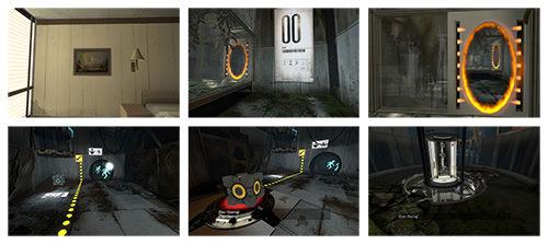 Capturas de pantalla de la experiencia de incorporación de Portal
