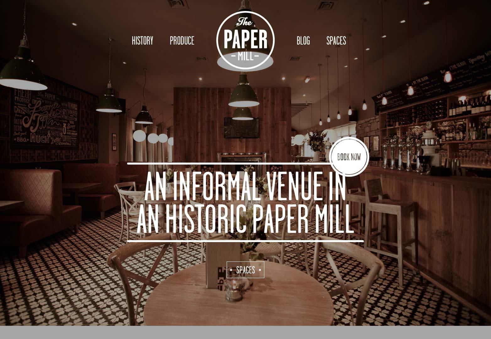 La fábrica de papel