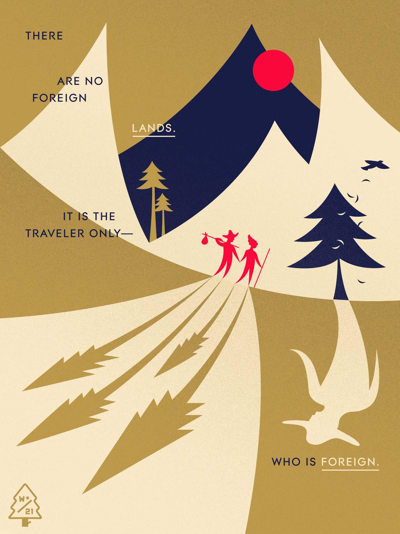 El proyecto Wander Postcard